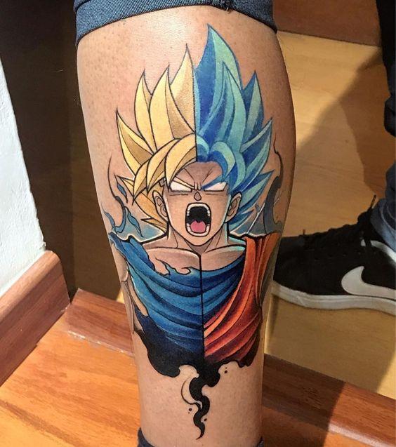 58 Mejores Tatuajes de Vegeta (+Significado) 19