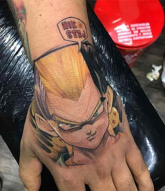 58 Mejores Tatuajes de Vegeta (+Significado) 43