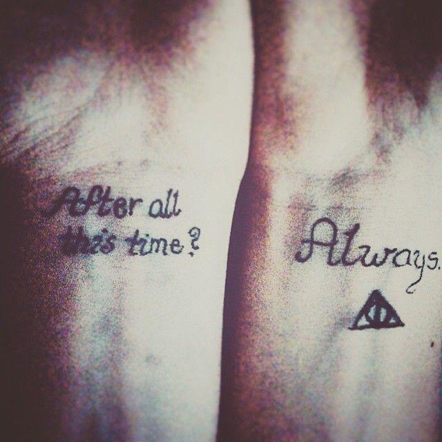 9 3/4 Ideas para Tatuajes de Harry Potter que todos los fans quieren 17