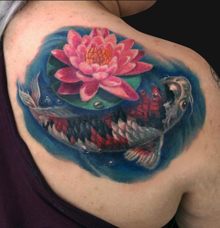 64 Ideas De Tatuajes De Pez Koi Significados 2021
