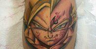 58 Mejores Tatuajes de Vegeta (+Significado) 4