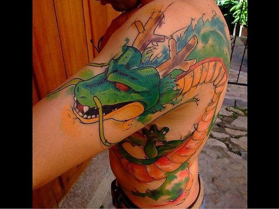 46 Mejores Tatuajes de Dragon Ball y variantes 7