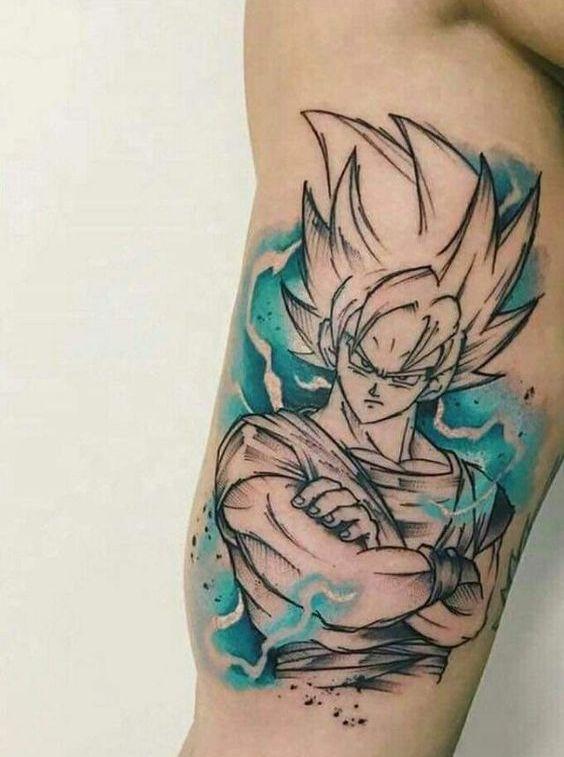 46 Mejores Tatuajes de Dragon Ball y variantes 8
