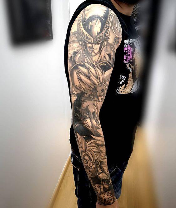 46 Mejores Tatuajes de Dragon Ball y variantes 9